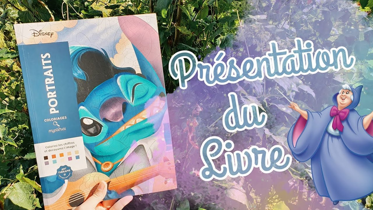 Coloriages Mystères Disney - Portraits - SOLUTIONS