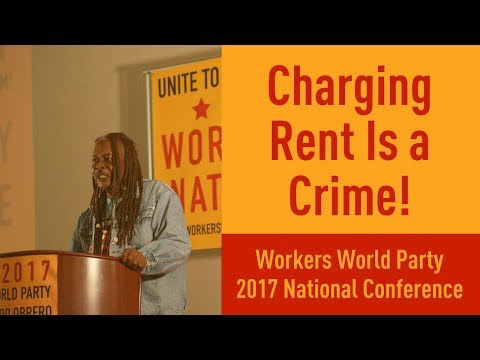 Lee, Baltimore Branch on Workers World Party and the Struggle Against Gentrification