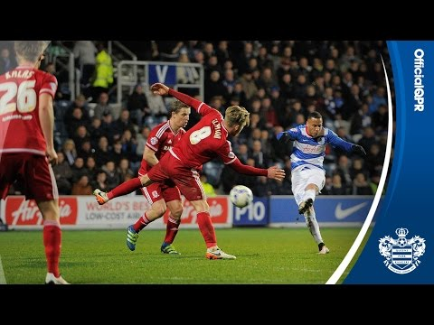 HIGHLIGHTS | QPR 2, MIDDLESBROUGH 3 - 01/04/16