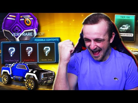 BLACK DIECI ARE IN DROPS!   Opening ALL My Drops, Trading Up My Inventory & MORE in Rocket League!