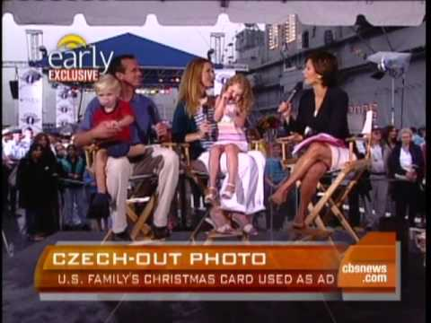 Family Photo Becomes Czech Ad