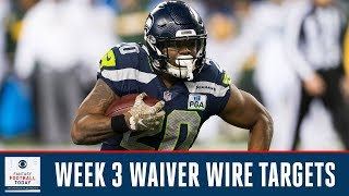 Week 3 WAIVER WIRE Priorities   Full Episode   Fantasy Football Today