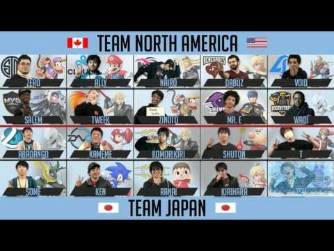 Frostbite 2017 - North America vs Japan Crew Battle