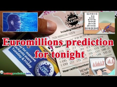Euromillions Predictions For Today 2019