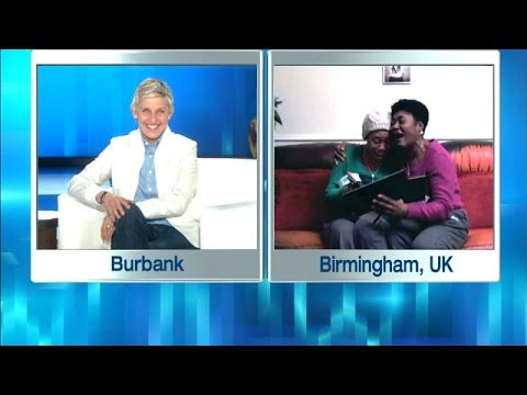 Ellen Surprises Her Biggest UK Fans