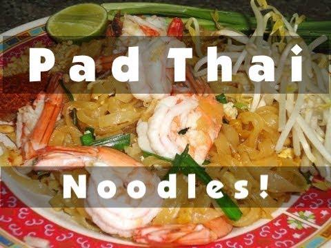 PAD THAI – Food Cooking Tutorial – Bangkok, Thailand