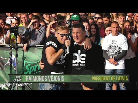 Raimonds Vējonis - Sprite Kings of Air