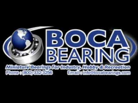 Boca Bearings Green Seal RC Bearings