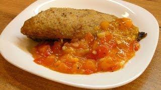 Как приготовить мексиканский соус: Сальса из хурмы / Persimmon salsa sauce ♡ English subtitles