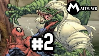 Spider-Man 3 - #2 - El Lagarto asciende