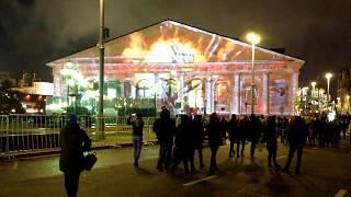 Горит Центральный Выставочный Зал Москва/The Central Exhibition Hall is on fire in