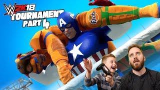Captain America vs Captain Fanta! 2k18 Avengers Game Tournament Pt #4