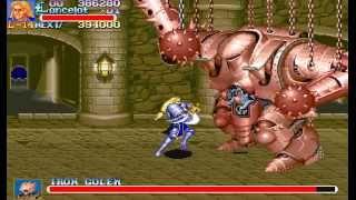 Arcade Longplay [390] Knights of the Round