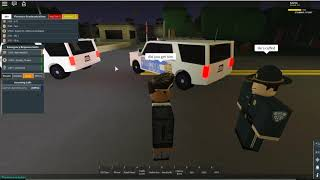ROBLOX | Firestone DHS Patrol (Gang Member Pursuit and Water Search) Bloopers at the end.