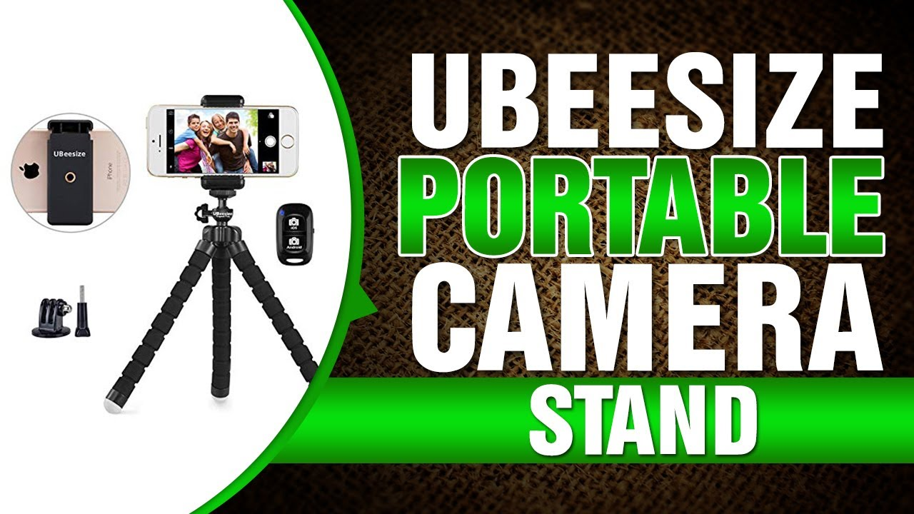 Android Phone UBeesize Phone Tripod Compatible with iPhone Pink 2020 Portable and Adjustable Camera Stand Holder with Wireless Remote and Universal Clip Sports Camera GoPro