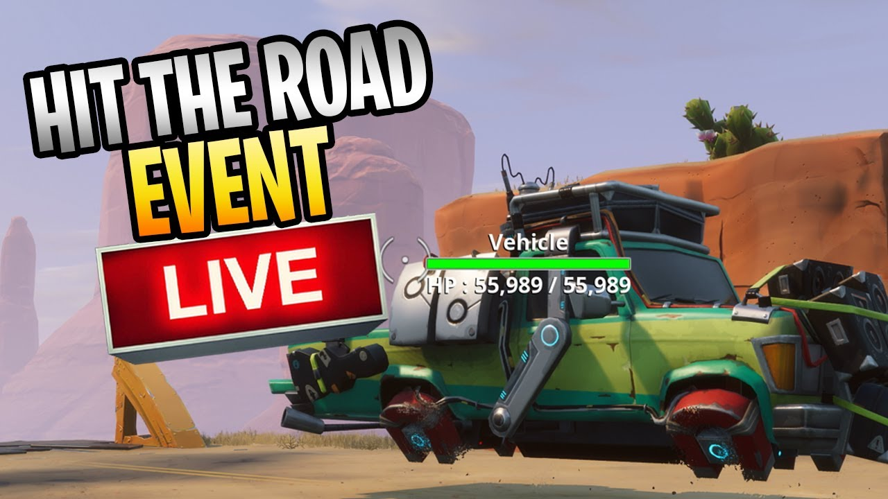 Fortnite Stw Hit The Road Rewards Stw Hit The Road Event Live