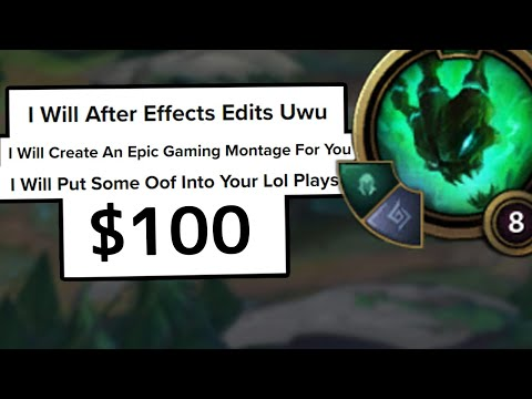 League of Legends but I spent $100 on Fiverr to edit the worst Thresh play ever