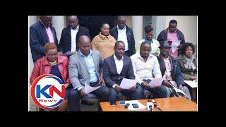Machakos MCAs condemn Mutua's attacks on DP Ruto