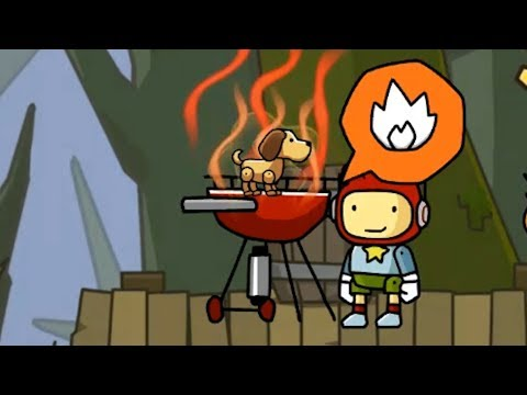 Terrible Decisions, Great Solutions In Scribblenauts