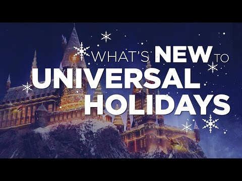 Universal Holidays features Christmas in The Wizarding World of Harry Potter™