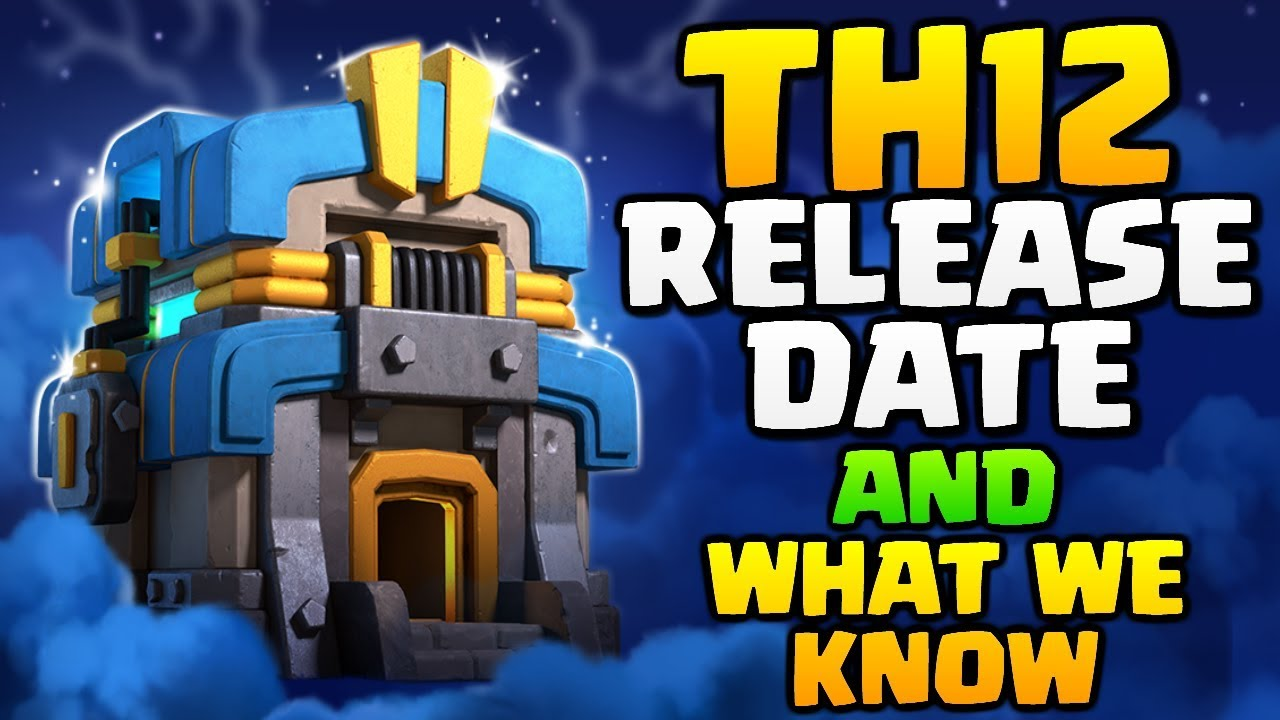 RELEASE DATE for TOWN HALL 12 and What We Know! Clash of Clans TH12 Update - Giga Tesla New Defense!