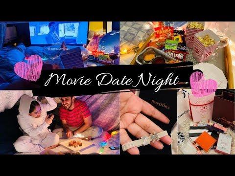 Movie Date Night + Gifts From Husband | Zenab Vlogs