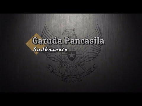 [Karaoke] 🎵 Sudharnoto - Garuda Pancasila 🎵 +Lirik Lagu [PIANO]