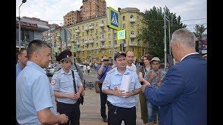 В Ростове полиция попыталась запретить читать стихи Пушкина в день русского языка