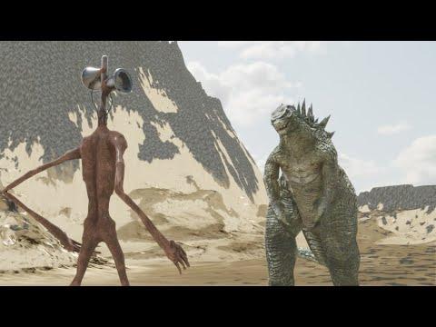 Download Siren Head VS Godzilla