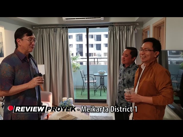 Review Proyek - Meikarta District 1