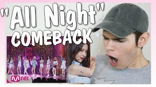 "Video LIVE Reaction I SNSD ""All Night"" COMEBACK STAGE download MP3, 3GP, MP4, WEBM, AVI, FLV Oktober 2017"