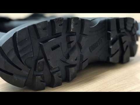 Rock Fall Vulcan Foundry Safety Boots | CMF | William Lee | 3 Point 500 Degree Test