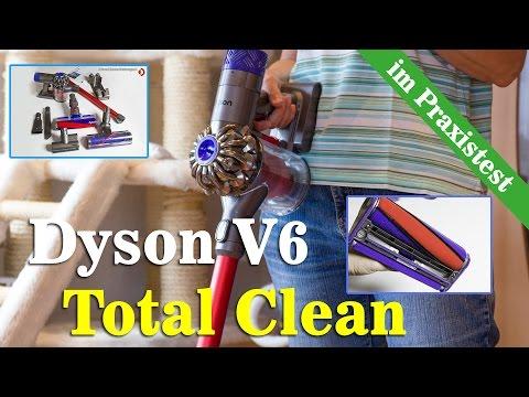 Dyson V6 Total Clean Test - Was kann der Neue Akkustaubsauger?