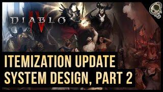 Diablo 4 Itemization Update #2 Discussion | Developer Post | Feedback | Diablo IV