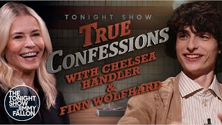 True Confessions with Chelsea Handler and Finn Wolfhard   The Tonight Show Starring Jimmy Fallon