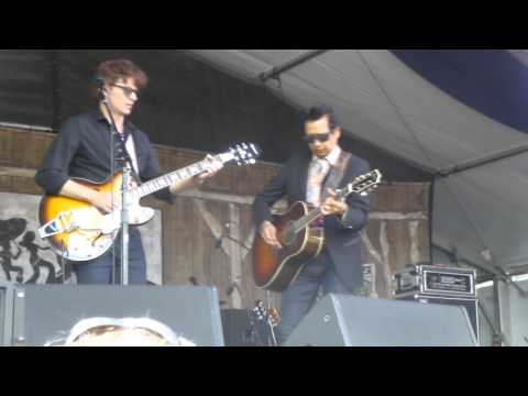 Alejandro Escovedo & the Sensitive Boys at New Orleans Jazz Fest 2014 05-02-2014 #1