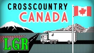 LGR - Cross Country Canada - DOS PC Game Review