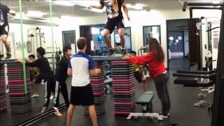 Box Jump Title Defense - 24 Stacks