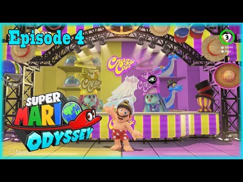 Of Course Mario is Naked | Super Mario Odyssey | Episode 4