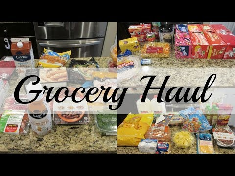 Grocery Haul - Safeway