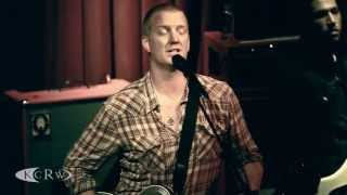 "Queens of the Stone Age performing  ""Keep Your Eyes Peeled"" Live at KCRW's Apogee Sessions"
