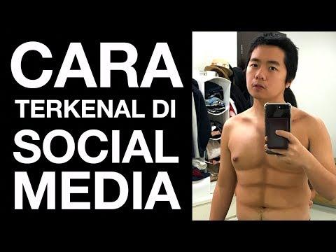 CARA TERKENAL di SOCIAL MEDIA