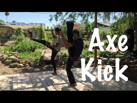 How to Deliver an AXE KICK Knockout