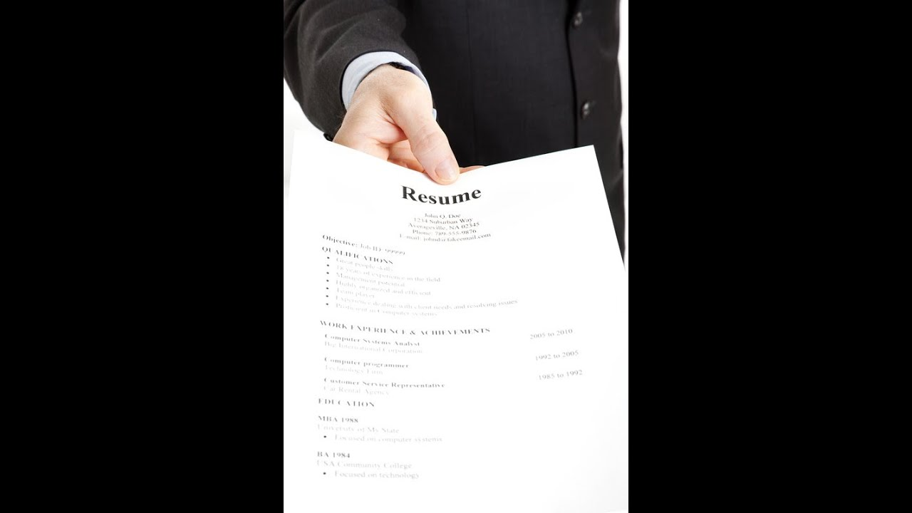 how to send resume to a company by email youtube