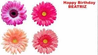 Beatriz - flowers - Happy Birthday