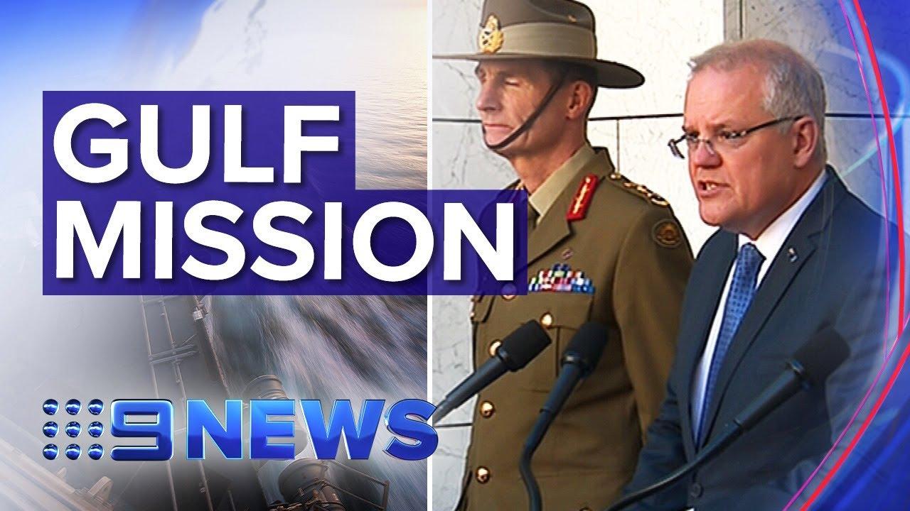 Australia to join U.S. shipping mission as Iran tensions grow | Nine News Australia