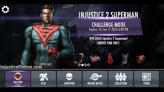 INJUSTICE 2 iOS   Android   SUPERMAN   SUPER MOVE   X RAY   FATALITY