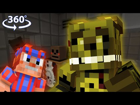 Five Nights At Freddy's 3 - Minecraft 360° Video