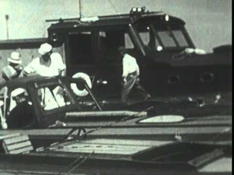 FDR at Port Aransas, Texas
