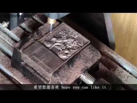 ZONESUN 3axis mini diy cnc engraving machine,PCB Milling engraving machine,Wood Carving machine